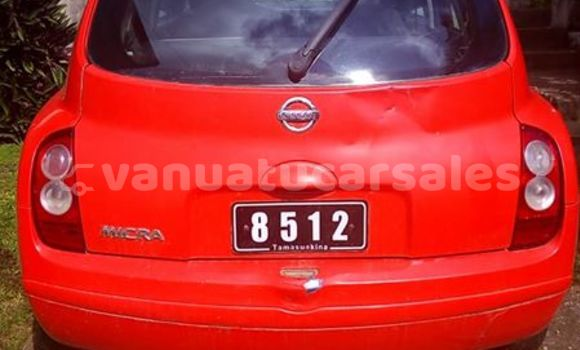 Buy Used Nissan March Other Car in Longana in Penama