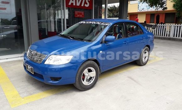 Buy Imported Toyota Corolla Blue Car in Port Vila in Shefa