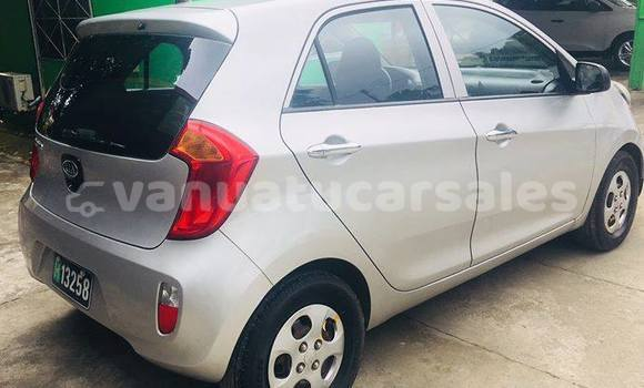 Buy Imported Kia Picanto Silver Car in Port Vila in Shefa