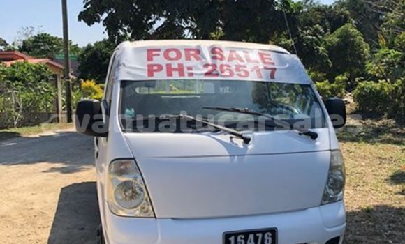 Buy Imported Kia Bongo White Car in Port Vila in Shefa