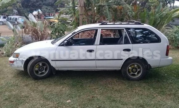 Buy Imported Toyota Corolla White Car in Port Vila in Shefa
