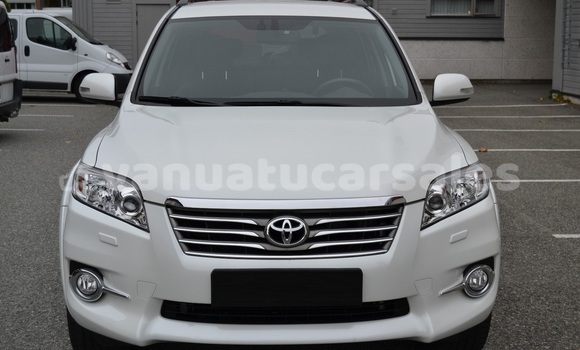 Buy Used Toyota RAV 4 White Car in Luganville in Sanma