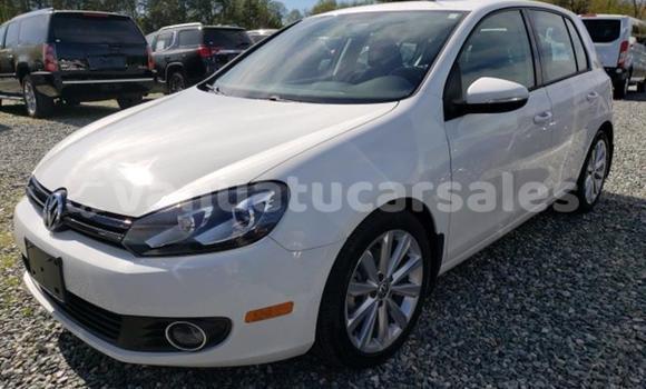 Buy Import Volkswagen Golf White Car in Burumba in Shefa