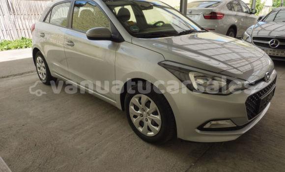 Buy Used Hyundai i20 Silver Car in Port Vila in Shefa